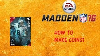 HOW TO MAKE COINS IN MUT 16!