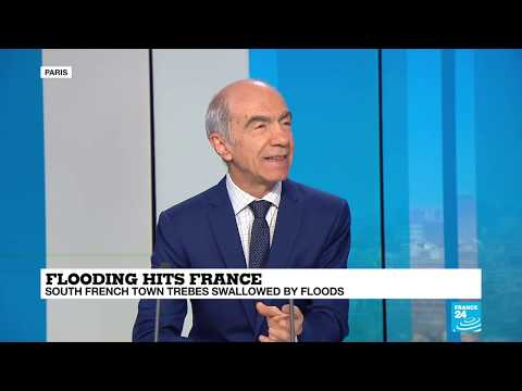 Flooding hits France: