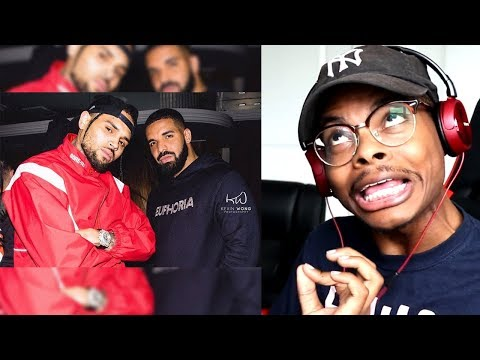 2 LEGENDS! | Chris Brown Ft. Drake - No Guidance | Reaction