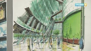 В центре «Фестивальный» открылась выставка американского художника