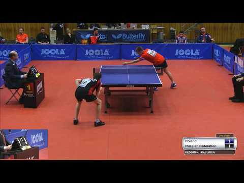 [2020 ITTF Czech J&C Open] Milosz Redzimski vs Maksim Kaburkin 2020.3.10