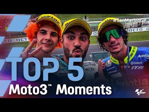 Moto3 2021 第14戦サンマリノ 決勝レースのハイライト動画