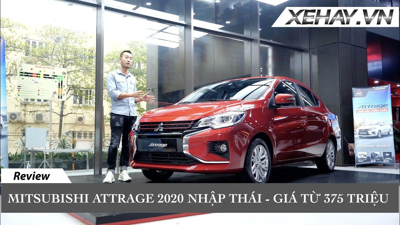 Chỉ từ 375 triệu có ngay xe nhập Thái - Mitsubishi Attrage 2020 - 0948.960.069(Ms.Nhung)