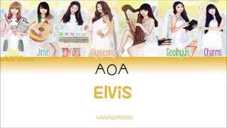 AOA Elvis [HANROMENG] Color Coded Lyrics
