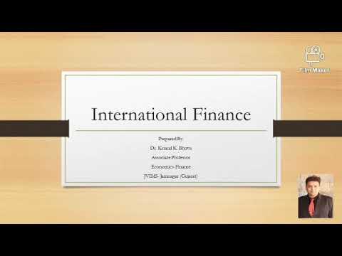 International Finance Basics