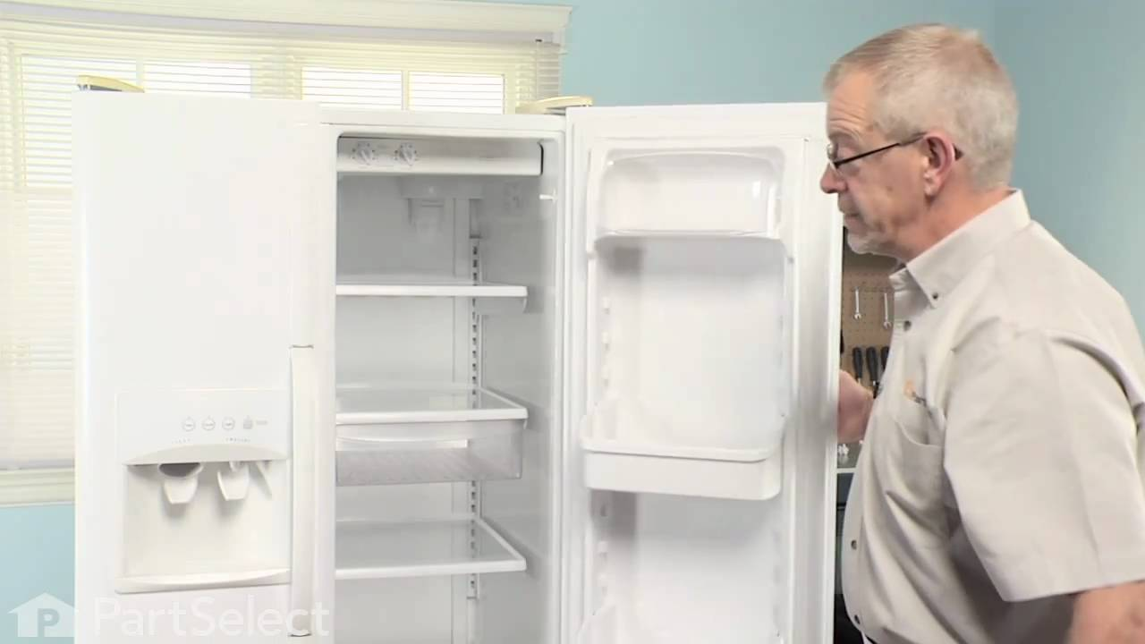 Replacing your Frigidaire Refrigerator Meat Drawer Rail - Right Side