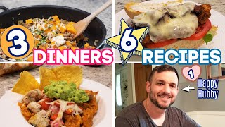 WHATS FOR DINNER? | EASY DINNER INSPIRATION | 6 RECIPES! | NO. 59
