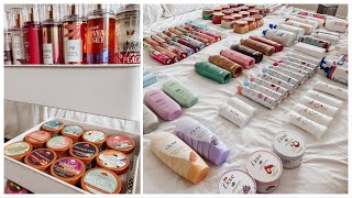 Organize My Hygiene Products With Me