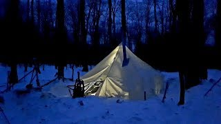 ALASKAN ATUK HOT TENT Series/A Winter Living Journal/EP 9