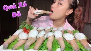 Một Mình Chén Sạch Nguyên Mâm Sashimi Ốc Vòi Voi - Dễ Sợ Chưa  #287