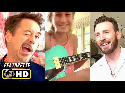 Marvel Actors in Quarantine #17 [HD] Brie Larson, Robert Downey Jr.