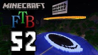 Minecraft Feed The Beast - S2E52 - Portal Spleef!
