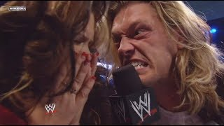 Edge goes CRAZY - WWE SmackDown 9/08/2008 (HD)