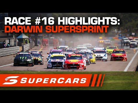 2020年 SUPERCARS ダーウィン スーパースプリント #race16 レースハイライト動画