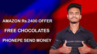 Send Re.1 Get Rs.2400 Cashback !! Mobikwik UPI Loot !! Fake Telegram Channel, Amazon Free Chocolates