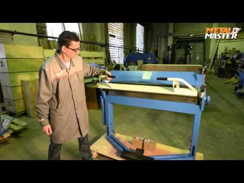 Сегментальный листогибочный станок Metal Master MTB 3S