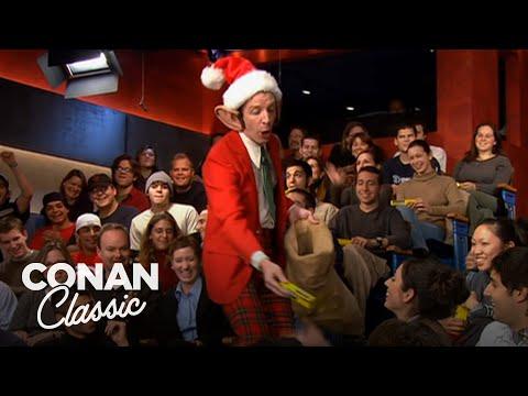 "Preparation H Raymond Spreads Christmas Cheer & Cream - ""Late Night With Conan O'Brien"""