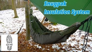 "Isolationssystem ""Hammock Under Blanket"" + ""Hammock Quilt"" von Snugpak"