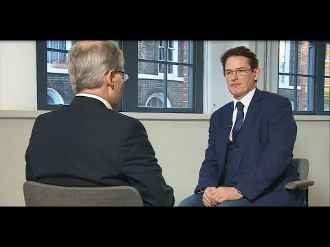 Will Gibson talks smart street lighting with Jon Dee from Sky News