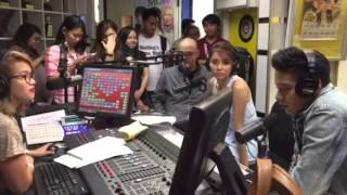 Daniel Padilla and Kathryn Bernardo on heartbeats with chac