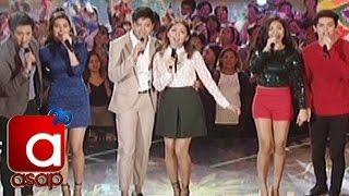 ASAP: KathNiel, LizQuen, JaDine sing
