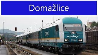 Vlaky - Domažlice - 30.7.2014