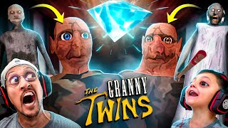 GRANNY 3: The Twins!!  FGTeeV vs. Bob & Buck the Diamond Thieves
