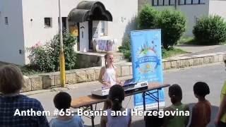 Anthem #65: Bosnia & Herzegovina- Capri Everitt: Around the World in 80 Anthems