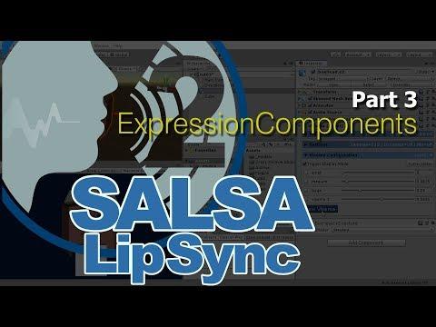 SALSA LipSync Suite v2 - Pt3 (Expression Components)