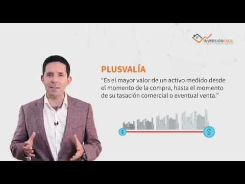 ¿Qué es Plusvalía?