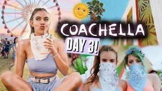 COACHELLA 2018 DAY 3🌵🌞 | Coffee, craziness & celebs - Video Youtube