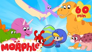 Dinosaur Easter Eggs - Learn Colors with Morphle | Cartoons for Kids | Morphle TV