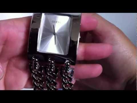 Women's Guess Silver Tone Multichain Bracelet G85719L