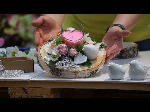 DIY Geschenk mit Herz Youtube - Gartencenter Mencke
