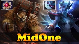MidOne Earthshaker Lotus orb and Vengeful Spirit Manta style - Dota 2