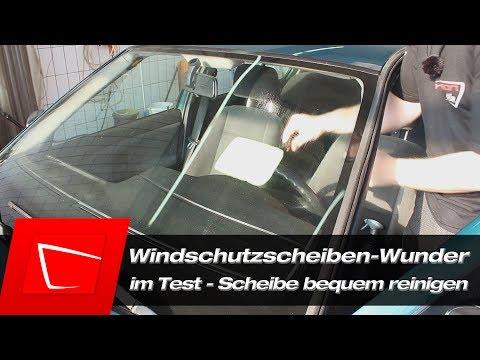 Windschutzscheiben-Wunder Pearl Windschutzscheibe reinigen - Autoscheibe reinigen Glas reinigen