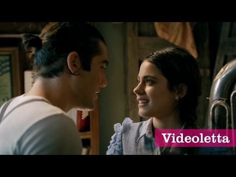 Tini: The Movie - Vilu and Caio get wet in the rain