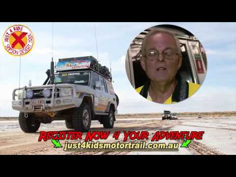 J4K Motor Trail Simpson Desert Trek Ad 004 I'v Been Every Where Man
