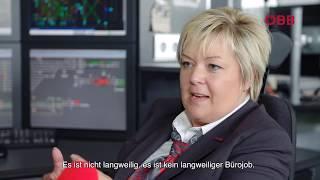 Daniela Zingl, Fahrdienstleiterin bei den ÖBB