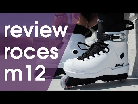 2018 ROCES M12 AGGRESSIVE INLINE SKATES REVIEW