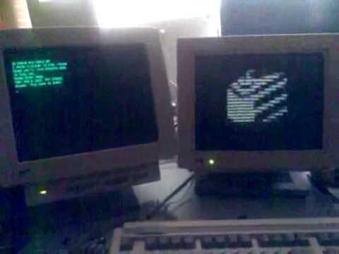 Portal Theme On Classic Computer