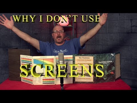 Homemade DM Screens || Too Easily Distracted - смотреть онлайн на