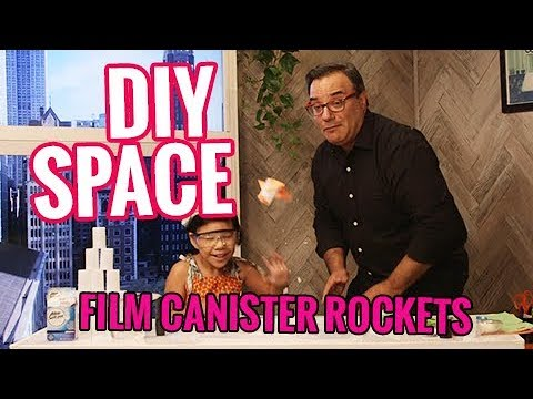 DIY Space! How to Launch an Alka-Seltzer Rocket