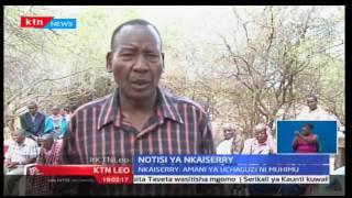 KTN Leo: Waziri wa usalama wa ndani Joseph Nkaissery amuunga mkono Ole Lenku kuwania ugavana