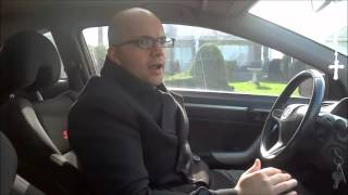 How To Sit In A Car Properly-Driving Lesson