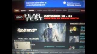 AMC Fear Fest starts this weekend!!