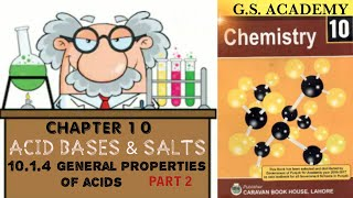 Reactions of acids, how acids react with different compounds, chemical properties of acids,  part 1