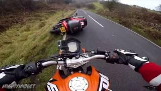 Мото аварии Moto crash/fails