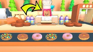 Roblox Building My Own Donut Factory Minecraftvideos Tv