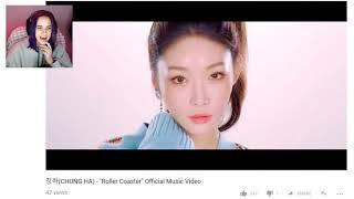 KPOP Reaction - 청하 (CHUNGHA) - Roller Coaster MV